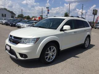 Used 2015 Dodge JOURNEY R/T * AWD * LEATHER * DVD * NAV * REAR CAM * SUNROOF * 7 PASS * LOW KM for sale in London, ON