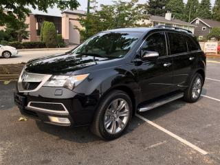 Used 2011 Acura MDX Elite Coquitlam Location - 604-298-6161 for sale in Langley, BC