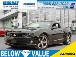 Used 2012 Chevrolet Camaro 1SS**ALLOY WHEELS**SUNROOF** for sale in Surrey, BC