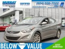 Used 2015 Hyundai Elantra SE**ALLOYWHEELS**HEATED SEATS** for sale in Surrey, BC