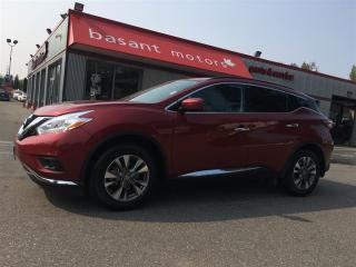 Used 2017 Nissan Murano Nav, Heated Seats, Panoramic Roof, Backup Camera!! for sale in Surrey, BC