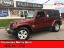 Used 2008 Jeep Wrangler Unlimited Sahara  4X4, POWER-GROUP, 2 TOPS, AUTOMATIC for sale in St Catharines, ON