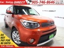Used 2017 Kia Soul EX+| PUSH START| 7 TOUCH SCREEN| BACK UP CAM| for sale in Burlington, ON