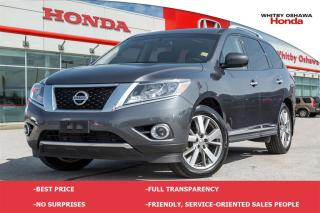 Used 2014 Nissan Pathfinder Platinum for sale in Whitby, ON