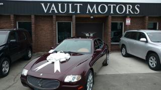 Used 2007 Maserati Quattroporte WARRANTY INCLUDED for sale in Brampton, ON