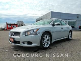 Used 2012 Nissan Maxima WARRANTY INCLUDED ONE OWNER for sale in Brampton, ON