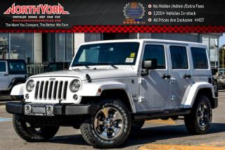 New 2017 Jeep Wrangler Unlimited New Car Sahara|4x4|DualTop,LED,Cnnctvty,Pkgs|Alpine|Nav| for sale in Thornhill, ON