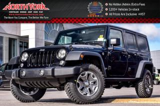 New 2017 Jeep Wrangler Unlimited New Car Rubicon|4x4|DualTop,LED,CldWthr,CnnctvtyPkgs| for sale in Thornhill, ON