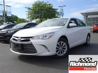 Used 2016 Toyota Camry LE! Balance Of Factory Warranty! for sale in Richmond, BC