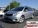 Used 2016 Toyota Sienna CE! Balance Of Factory Warranty! for sale in Richmond, BC