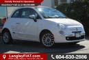 Used 2012 Fiat 500 Lounge NO ACCIDENTS, B.C OWNED for sale in Surrey, BC