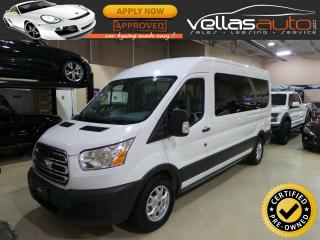 Used 2015 Ford Transit T-350 XLT| NAVIGATION| 12 PASSENGER| R/CAMERA for sale in Woodbridge, ON