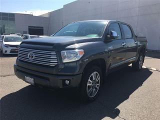Used 2016 Toyota Tundra Platinum 5.7L V8 for sale in Brampton, ON