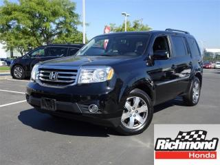 Used 2015 Honda Pilot Touring! Honda Certified Extended Warranty to 120 for sale in Richmond, BC