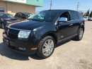 Used 2008 Lincoln MKX ALL WHEEL DRIVE! LEATHER & SUNROOF! for sale in Bolton, ON