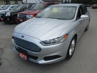 Used 2013 Ford Fusion GREAT VALUE SE MODEL 5 PASSENGER 2.5L - DOHC.. SYNC TECHNOLOGY.. BLUETOOTH SYSTEM.. KEYLESS ENTRY.. for sale in Bradford, ON