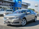 Used 2017 Chevrolet Impala for sale in Ottawa, ON