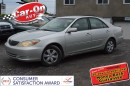 Used 2002 Toyota Camry LE for sale in Ottawa, ON