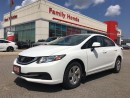 Used 2013 Honda Civic LX (M5) for sale in Brampton, ON