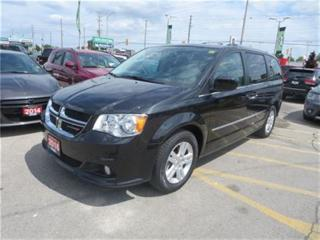 Used 2016 Dodge Grand Caravan Crew - Leather  Pwr Rear Hatch  Back Up Cam for sale in London, ON