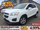 Used 2014 Chevrolet Trax 1LT | GM LEASE RETURN | FWD | ALLOYS for sale in St Catharines, ON