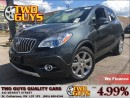 Used 2016 Buick Encore PREMIUM| LEATHER | NAV | SUNROOF | FWD for sale in St Catharines, ON