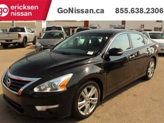 Used 2013 Nissan Altima 3.5 SL, Leather, Sunroof, NAV, Blue Tooth for sale in Edmonton, AB