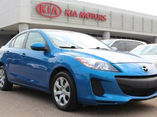 Used 2013 Mazda MAZDA3 GX, 5 SPEED MANUAL, SIRIUS, AIR CONDITIONING, USB / AUX for sale in Edmonton, AB