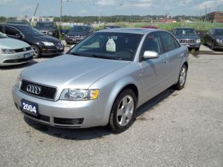 Used 2004 Audi A4 1.8T for sale in Orillia, ON