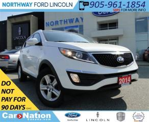 Used 2014 Kia Sportage LX | AWD |HEATED SEATS | BLUETOOTH | for sale in Brantford, ON