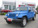 Used 2011 Jeep Wrangler Sahara for sale in Timmins, ON