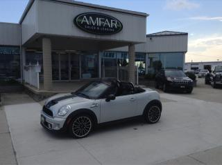 Used 2012 MINI Cooper Roadster AUTO / TURBO / CONVERT / NO PAYMENTS FOR 6 MONTHS for sale in Tilbury, ON