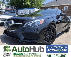 Used 2016 Mercedes-Benz E-Class E550 Cabriolet with Drive Assist! for sale in Hamilton, ON