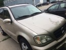 Used 2001 Mercedes-Benz ML 350 Tan for sale in North York, ON
