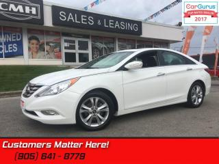 Used 2013 Hyundai Sonata Limited  LEATHER, ROOF, HS, POWER SEATS, BT for sale in St Catharines, ON