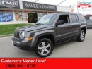 Used 2016 Jeep Patriot Sport  4X4, HIGH ALTITUDE, LEATHER, ROOF, BLUETOOTH for sale in St Catharines, ON