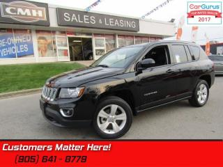 Used 2016 Jeep Compass Sport  4X4, HIGH ALTITUDE, LEATHER, ROOF, BLUETOOTH for sale in St Catharines, ON