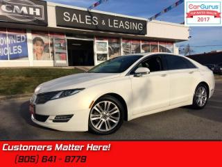Used 2013 Lincoln MKZ AWD, NAV, ROOF, COOLED SEATS,  BLIND SPOT, CAM for sale in St Catharines, ON