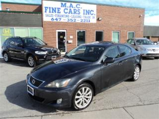Used 2008 Lexus IS 250 AWD - Leather - Sunroof for sale in North York, ON