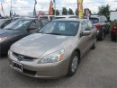 Used 2003 Honda Accord Sdn LX-G for sale in Kitchener, ON