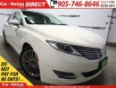 Used 2013 Lincoln MKZ | AWD| NAVI| PANO ROOF| LEATHER| for sale in Burlington, ON