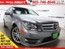 Used 2013 Mercedes-Benz C-Class C300 4MATIC| LOW KM'S| SUNROOF| LEATHER| for sale in Burlington, ON
