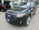 Used 2011 Ford Edge LOADED SPORT EDITION 5 PASSENGER 3.7L - V6.. AWD.. LEATHER.. HEATED SEATS.. DUAL SUNROOF.. NAVIGATION.. BACK-UP CAMERA.. for sale in Bradford, ON