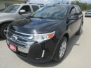 Used 2011 Ford Edge LOADED SEL EDITION 5 PASSENGER 3.5L - V6.. LEATHER.. HEATED SEATS.. DUAL SUNROOF.. POWER REAR SEATS.. BLUETOOTH SYSTEM.. for sale in Bradford, ON