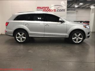 Used 2014 Audi Q7 3.0T Technik 7 Passenger Navigation Moonroof for sale in St George Brant, ON
