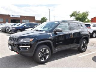 Used 2018 Jeep Compass Trailhawk NAVI/ADVANCED SAFETY GROUP/LEATHER/FULL for sale in Concord, ON