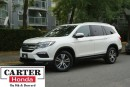 Used 2016 Honda Pilot EX-L w/NAVI + AWD + 8 SEATS + WHITE + CERTIFIED! for sale in Vancouver, BC