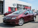 Used 2012 Honda Civic SUNROOF, CRUISE CONTROL, BLUETOOTH for sale in Orleans, ON