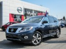 Used 2016 Nissan Pathfinder PLATINUM, LEATHER, INTELLIGENT KEY, NAVIGATION, MOONROOF, ROOF RAILS for sale in Orleans, ON