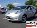 Used 2013 Nissan Leaf SV! 6 Months Powertrain Warranty Included! for sale in Richmond, BC